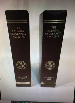 1993 The National Geographic Magazine Complete Year Set Incl Some Maps-12 Issues for Sale in Clearfield, UT