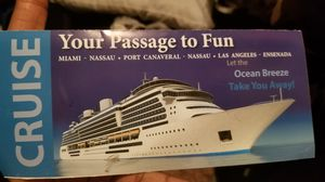 Vacation on cruise for two people.. only cash accepted for Sale in Alpharetta, GA