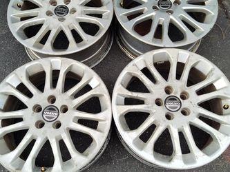 Volvo 17 inch aluminum rims. 5 on 108mm for Sale in Montebello,  CA