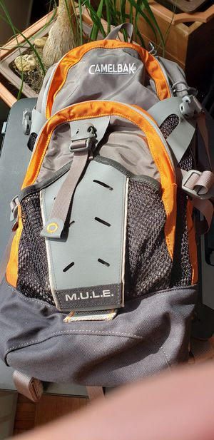 Gray and Orange Camel Backpack NEW for Sale in New York, NY