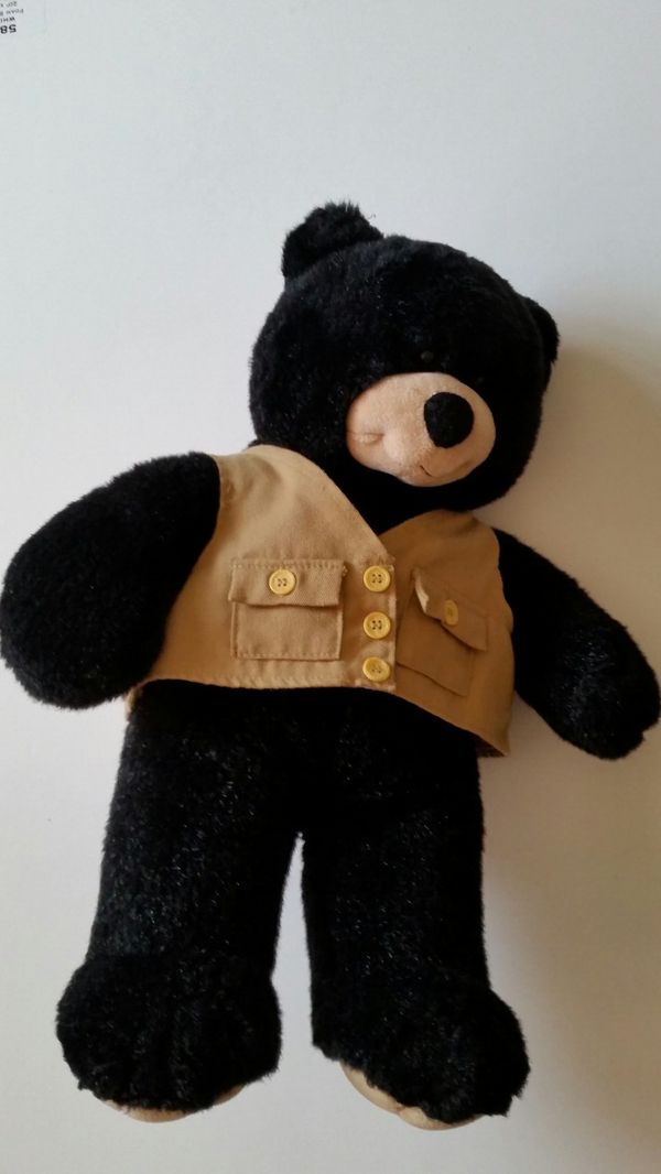 Building bear plushie toy