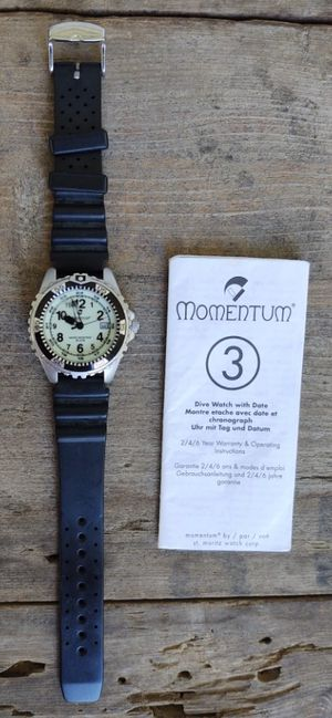Momentum 3 Dive Watch with Date for Sale in Fort Defiance, VA