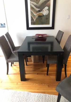 Dining table with 4 chairs $60 for Sale in Weehawken, NJ