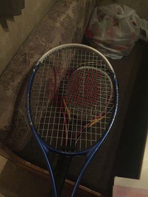 3 wilson tennis rackets for Sale in La Vergne, TN