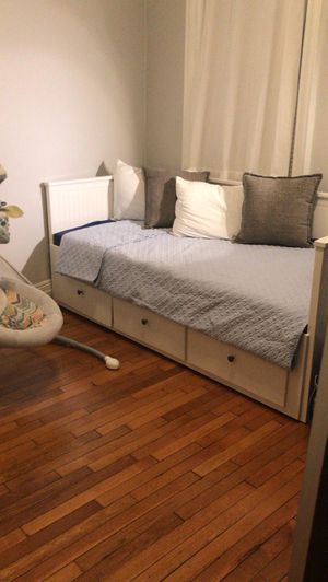 Ikea twin bed with storage underneath for Sale in New York, NY