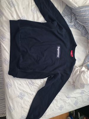 Supreme Box Logo Navy Crewneck DS for Sale in Los Angeles, CA
