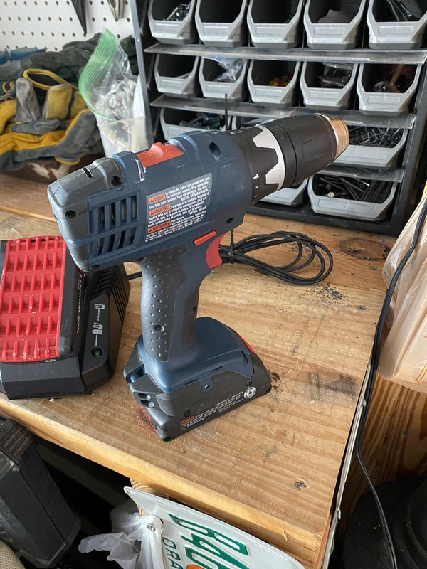 Bosch Drill With 2 Batteries and a New Charger