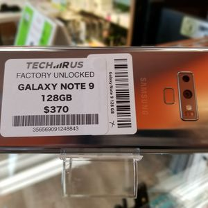Galaxy Note 9 (128GB) UNLOCKED $370 for Sale in Portland, OR