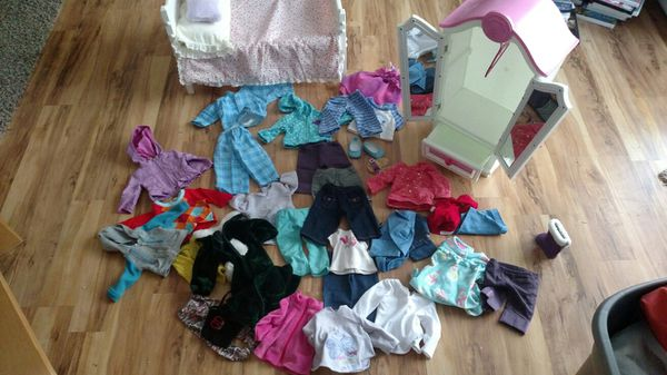 American girl clothes and closed