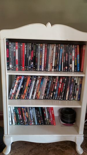 Shelf with all movies included for Sale in Pomona, CA