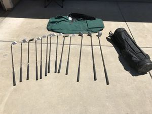 Golf clubs plus bags for Sale in Clovis, CA