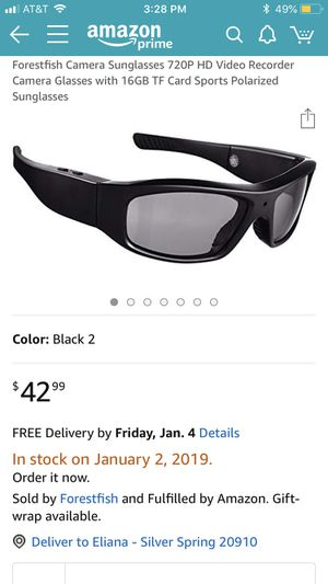 HD Video Recording Glasses for Sale in Silver Spring, MD