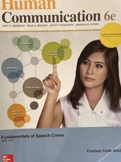 Human Communication 6E, Fundamentals of Speech and Communication for Sale in Miami,  FL