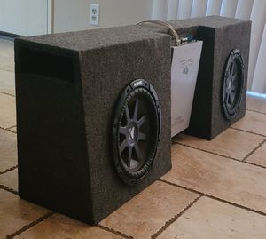 10' subs and amp for Sale in Anaheim, CA
