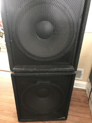 """Peavey PV 118 400W 18"""" Passive Subwoofer for Sale in Silver Spring, MD"""
