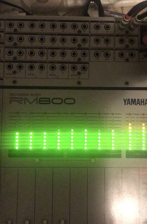 Yamaha RM-800 recording mixer console for Sale in Adelphi, MD