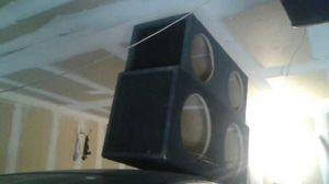 Speaker s box for Sale in Las Vegas, NV