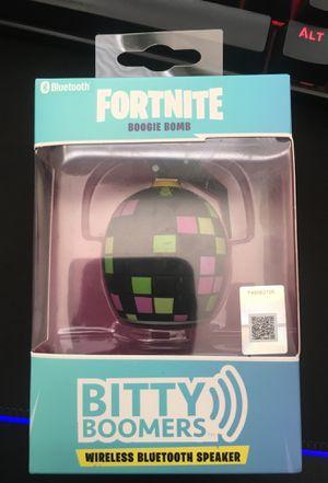 Fortnite boogie bomb wireless Bluetooth speaker for Sale in Escondido, CA
