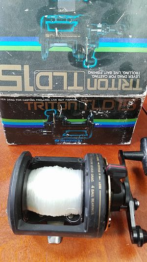 Triton TLD 15 Shimano Fishing Reel for Sale in Lancaster, CA
