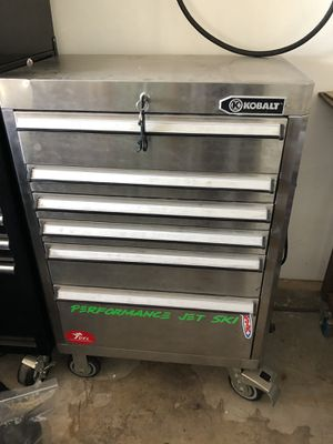 Stainless Kobalt tool box for Sale in San Diego, CA