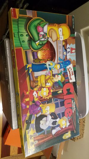 CLUE Board Game Simpsons First Edition for Sale in Millersville, MD