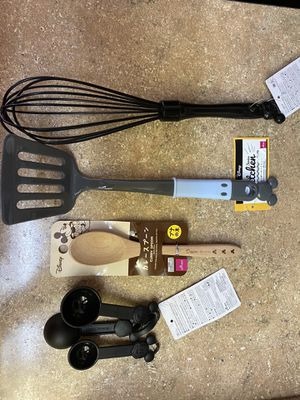 Disney Mickey Mouse Kitchen Accessories and cooking Utensils for Sale in Hacienda Heights, CA