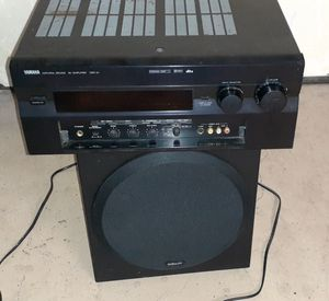 Yamaha dsp A1 receiver & polk psw202 subwoofer both non working for Sale in Phoenix, AZ
