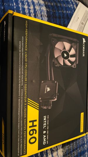 Corsair H60 Intel AMD CPU Cooler for Sale in Fort McDowell, AZ