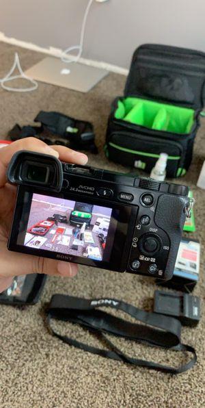 Sony alpha 6000 camera for Sale in Hemet, CA