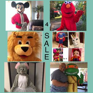 Mascot Characters for sale for Sale in Port St. Lucie, FL