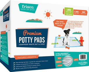 Frisco dog Training And Potty pad 22x23  150 Sheets for Sale in New York, NY