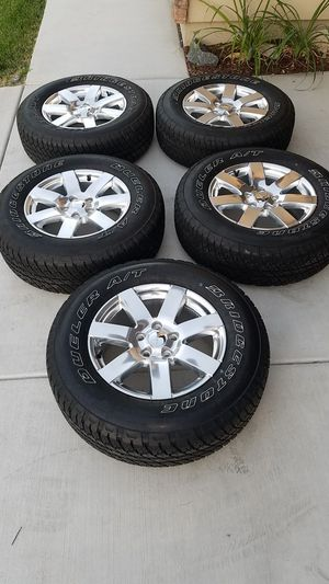 2018 Jeep Wrangler Sahara OEM Wheel-set $900 for Sale in Sacramento, CA