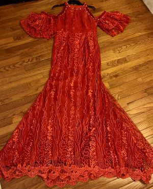 Red Lace Mermaid Gown for Sale in Arlington, VA