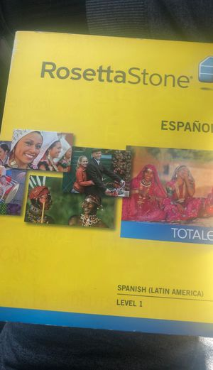 Rosetta Stone Spanish lvl 1 for Sale in Long Beach, CA