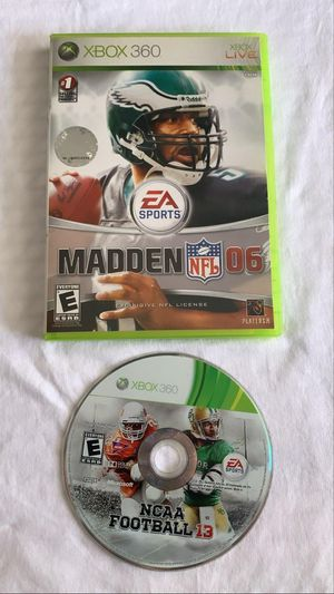 Madden NFL 06 Xbox 360 for Sale in Downey, CA