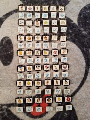 84 piece Disney pin collection set for Sale in Modesto, CA