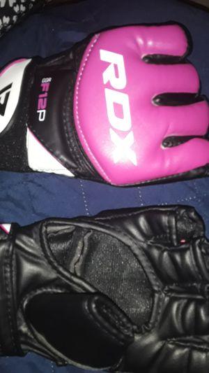 Small mma open palm gloves for Sale in Orlando, FL