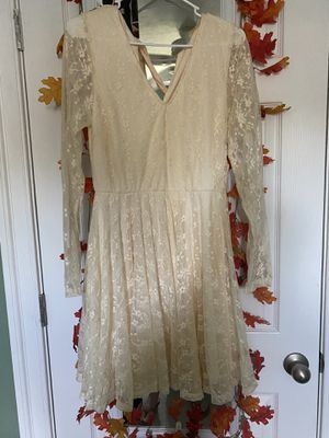 Brand New Alter'd State Lace Dress Size Large 50.00 obo for Sale in Chesapeake, VA