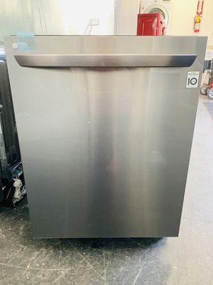 Lg Black Stainless Steel Dishwasher NEW/OPEN BOX for Sale in Layton, UT