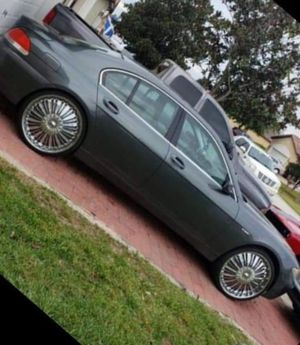 """05 BMW 7 series V8 on 24"""" Floaters for Sale in Winter Garden, FL"""
