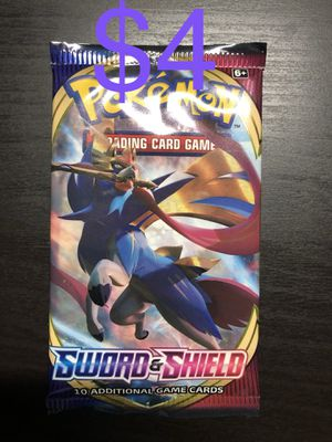 Pokemon Sword And Shield Base Booster Pack for Sale in Long Beach, CA