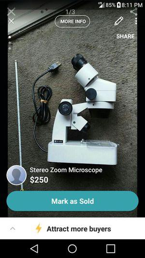 Stereo Zoom Microscope for Sale in Nashville, TN