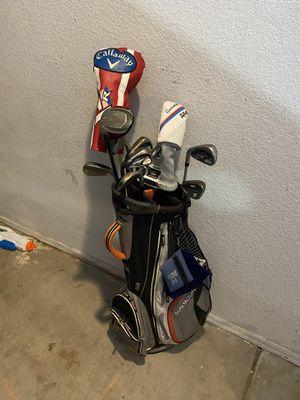 Left handed full golf set and bag for Sale in Gilbert, AZ