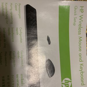 Hp Xb4 Notebook Media Docking Station Quick Setup And Up Wireless Mouse And Keyboard for Sale in Stockton, CA