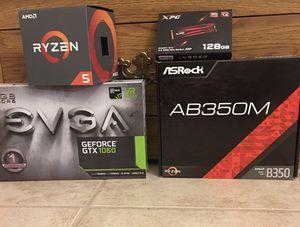 GPU - CPU - SSD - MOBO (gaming) for Sale in Clovis, CA