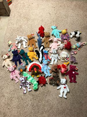 34 Beanie Babies for Sale in New Lenox, IL