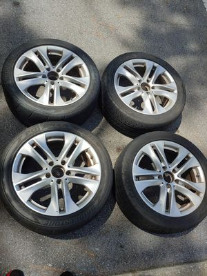 Mercedes Benz Rims 255/55/17 235/45/17 for Sale in Palm Harbor, FL