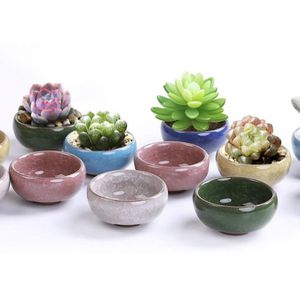 2.5 Inch Ceramic Succulent Plant Pot, tea light candle holder - pack of 10 (plants not included) for Sale in Topanga, CA