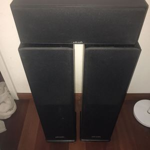 Polk Audio Speakers - Set Of 3 for Sale in Cupertino, CA