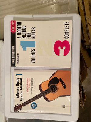2 Guitar Method Books for Sale in Montesano, WA